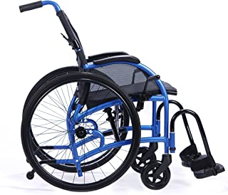 STRONGBACK 24 Mobility USA Ultra Light-Weight Portable Wheelchair | Supports The Natural and Healthy Lumbar Curve of The Spine