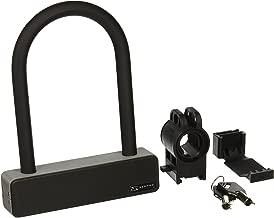 Serfas Hardened Steel Bike U-Lock with Bracket