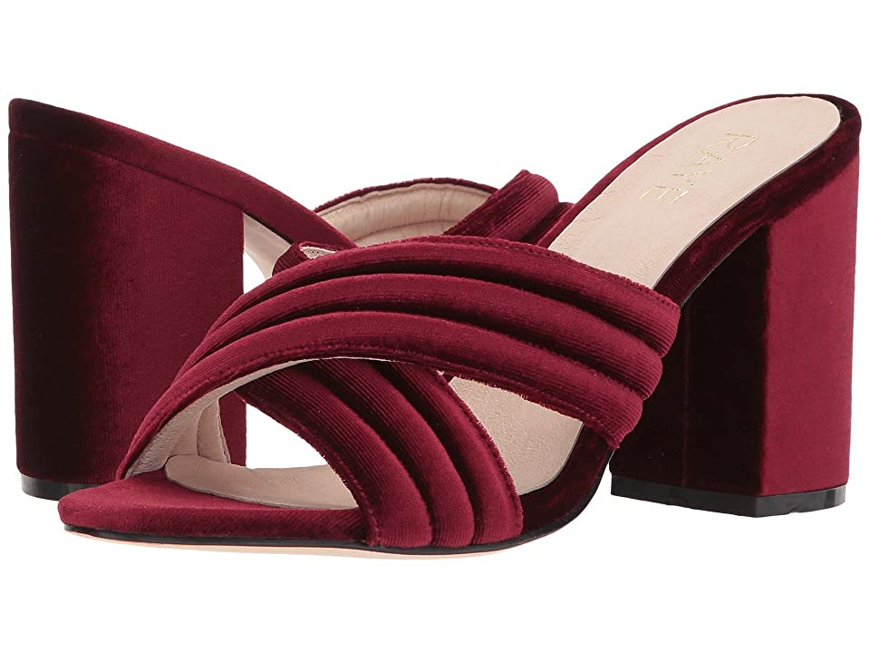 RAYE Bella (Sangria Velvet) High Heels