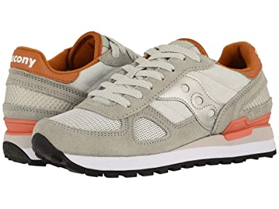Saucony Originals Shadow Original (Light Grey/Burnt Orange) Women