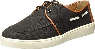 Carlton London Men's Clm-1442 Leather Sneakers