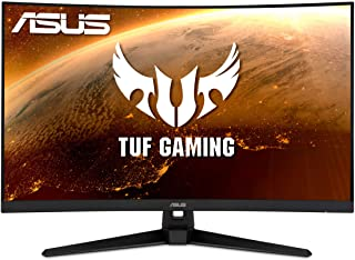 "ASUS TUF Gaming VG32VQ1B 31.5"" Curved Monitor, WQHD (2560 x 1440), 165Hz (Supports 144Hz), 1ms, FreeSync Premium/Adaptive-..."