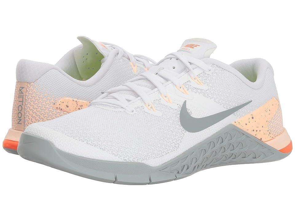 Nike Metcon 4 (White/Light Pumice/Crimson Tint) Women
