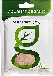 Gourmet Organic Herbs Nutmeg Ground, 30 g