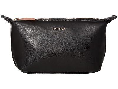 Matt & Nat Abbi Mini Loom (Black/Rose Gold) Cosmetic Case