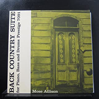 Mose Allison - Back Country Suite For Piano, Bass And Drums - Lp Vinyl Record