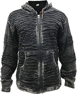 c68cb062a Amazon.es: ropa gotica hombre - Sudaderas con capucha / Sudaderas: Ropa