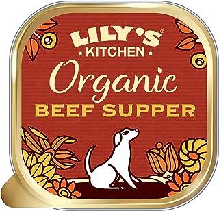 Lily's Kitchen Comida Húmeda Cena de Vacuno Orgánico para Perro (11 x 150g)