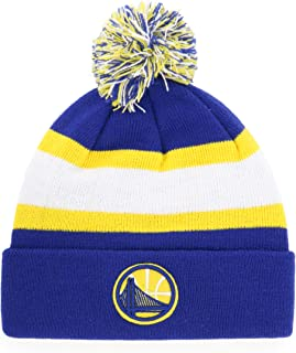 OTS NBA Men's Rush Down Cuff Knit Cap with Pom