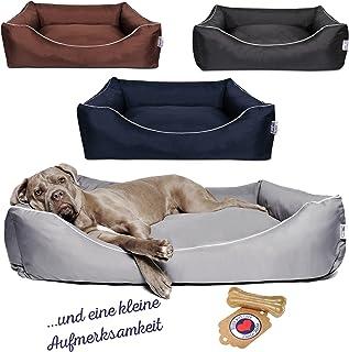 Tante Hilde Norderney Hundebetten | Hundekissen | Hundekörbchen | Waschbar | Robust | Größenauswahl für kleine XL, mittlere XXL und große XXXL Hunde