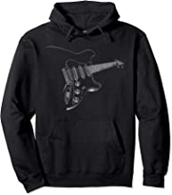 Cool Electric Pullover Musician Guitar Rock and Roll Hoodie
