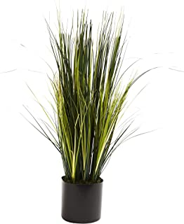 Nearly Natural 6766 Onion Grass Plant, 3-Feet, Green