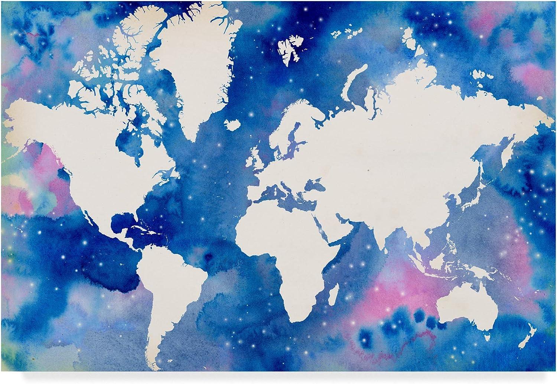 Trademark Fine Art Starry World by Grace Popp, 12x19