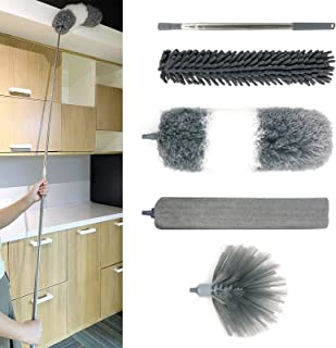 Microfiber Duster Kits (5 Pcs), with Stainless Steel...