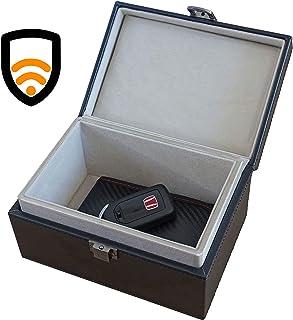 Faraday Car Key Box   Signal Blocking Faraday Box for Car Keys   Safe Storage Car Key Box with Built-in Faraday Cage   100... photo