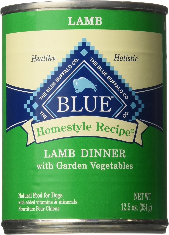 bluee Buffalo Homestyle Recipe Lamb Dinner  12X12.5 Oz