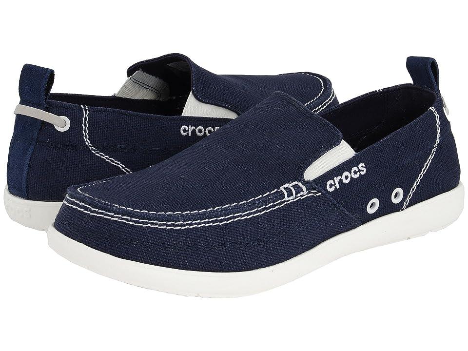 Crocs Walu (Navy/White) Men