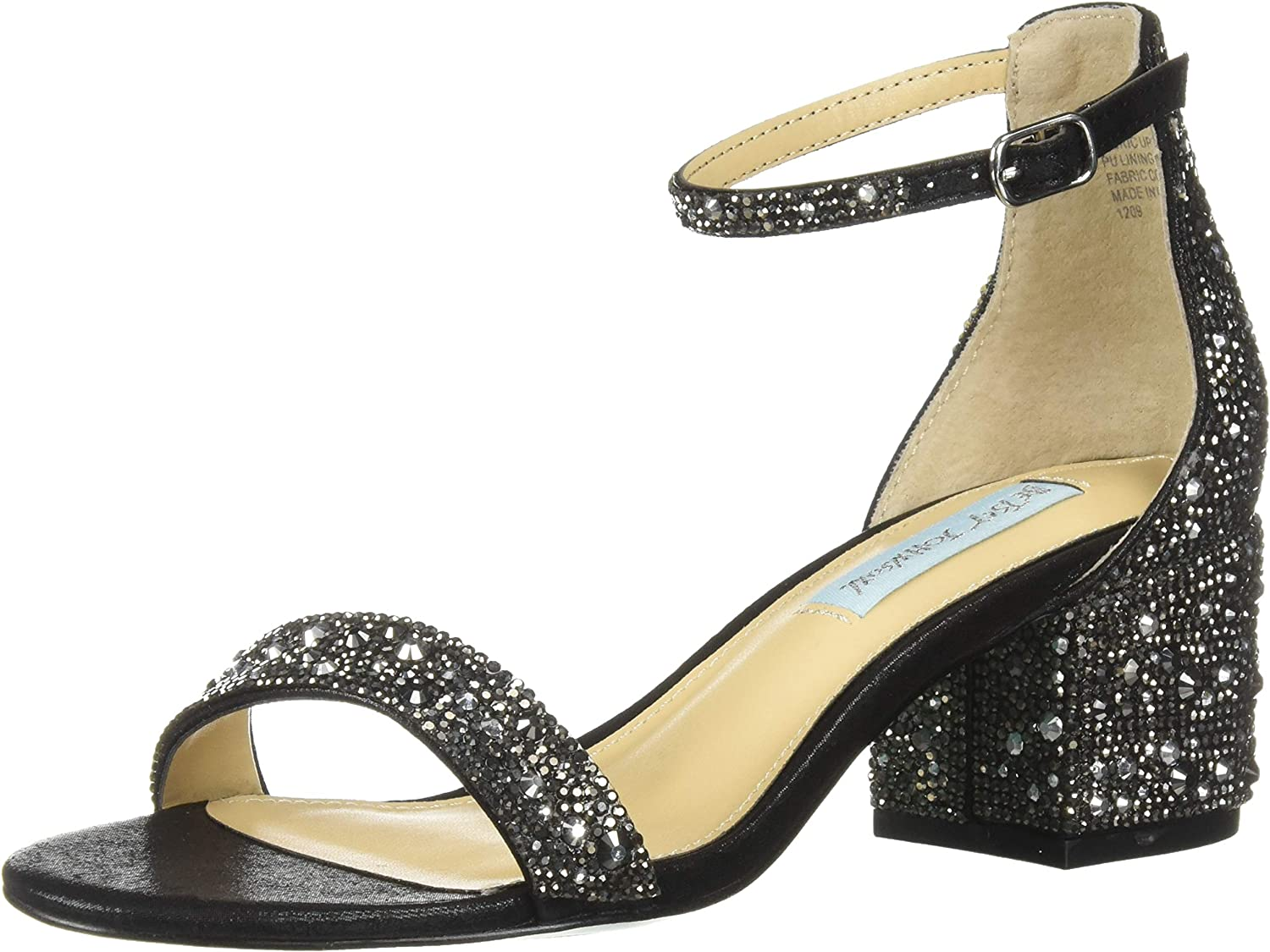 Betsey Johnson Womens Sb-mari Heeled Sandal