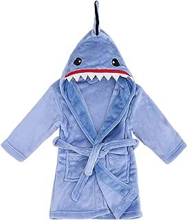 Image of Animal Blue Shark Robe for Boys with Hood