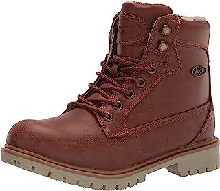 Lugz Women's Mantle Hi Fashion Boot, Rust/Gum/Cream, 6.5