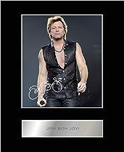 Jon Bon Jovi Firmado Foto enmarcada
