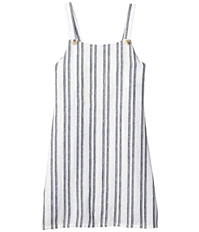 COTTON ON Free Pini Dress (Big Kids) (Navy Stripe) Girl