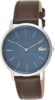 Lacoste Moon Men's Blue Dial Stainless Steel Watch - 2011003