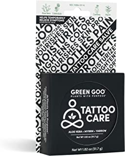 Green Goo Natural Skin Care Salve, Large Tin Tattoo Care 1.82 Ounce