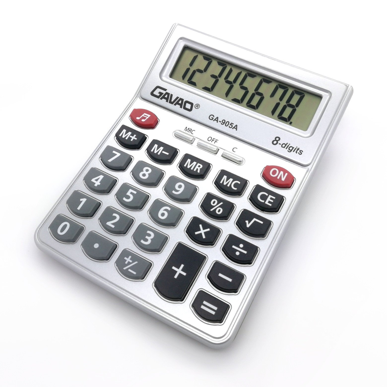 LCD calculadora 8 dígitos pantalla mesa calculadora Calculadora ...