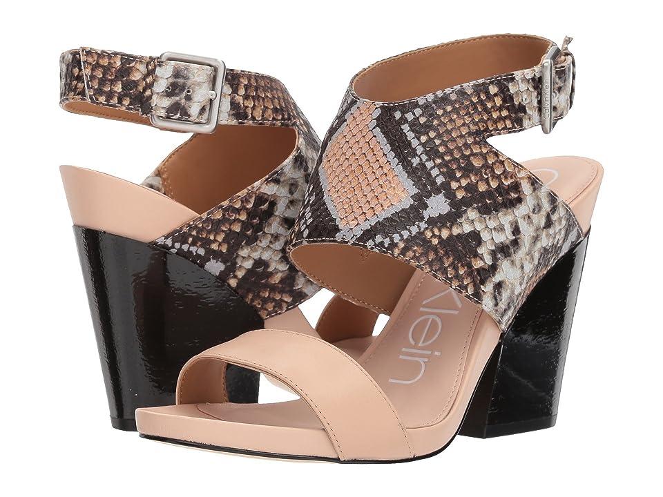 Calvin Klein Emmett (Sheer Satin) High Heels