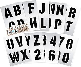 Dovetails Letter Stencils 4