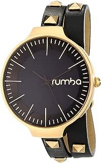RumbaTime Women's 'Orchard Double Wrap' Quartz Metal Casual Watch