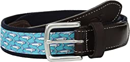 Sharks Canvas Club Belt