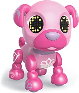 Zoomer Zupps Royal Pups, Princess Pug, Litter 4 - Interactive Puppy with Lights, Sounds and Sensors