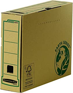 Bankers Box Earth Series 80 mm Wide Transfer File, A4 Size - Pack of 20