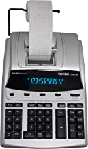 $105 » Victor 1240-3A 12 Digit Heavy Duty Commercial Printing Calculator with Built-in Antimicrobial Protection