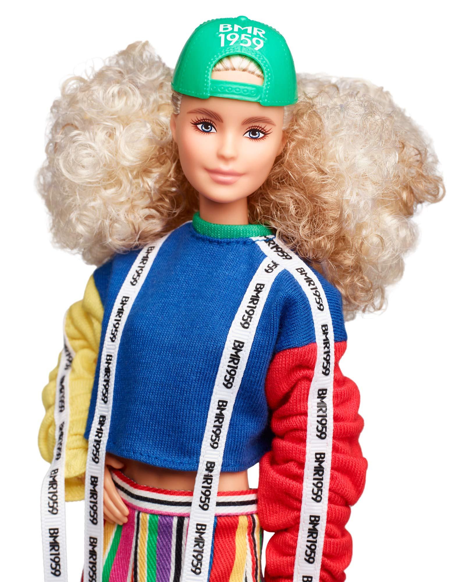 Amazon.es: Barbie BMR 1959 Muñeca Rubia, look Bambas-Calcetines ...