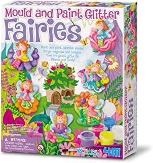 4M 3524 Mould and Paint Glitter Fairy Art and Craft Toy