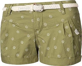 Damen Rockhosen Shorts Sommerhose Strandhose Kurz Hose Party Rüschen Gummizug