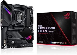 ASUS ROG Maximus XII Hero Z490 (WiFi 6) LGA 1200 (Intel® 10th Gen) ATX Gaming Motherboard (14+2 Power Stages, DDR4 4800+, ...