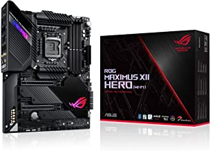 ASUS ROG Maximus XII Hero Z490 (WiFi 6) LGA 1200 (Intel 10th Gen) ATX Gaming Motherboard (14+2 Power Stages, DDR4 4800+, 5...