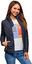 oodji Ultra Women's Quilted Stand Collar Jacket