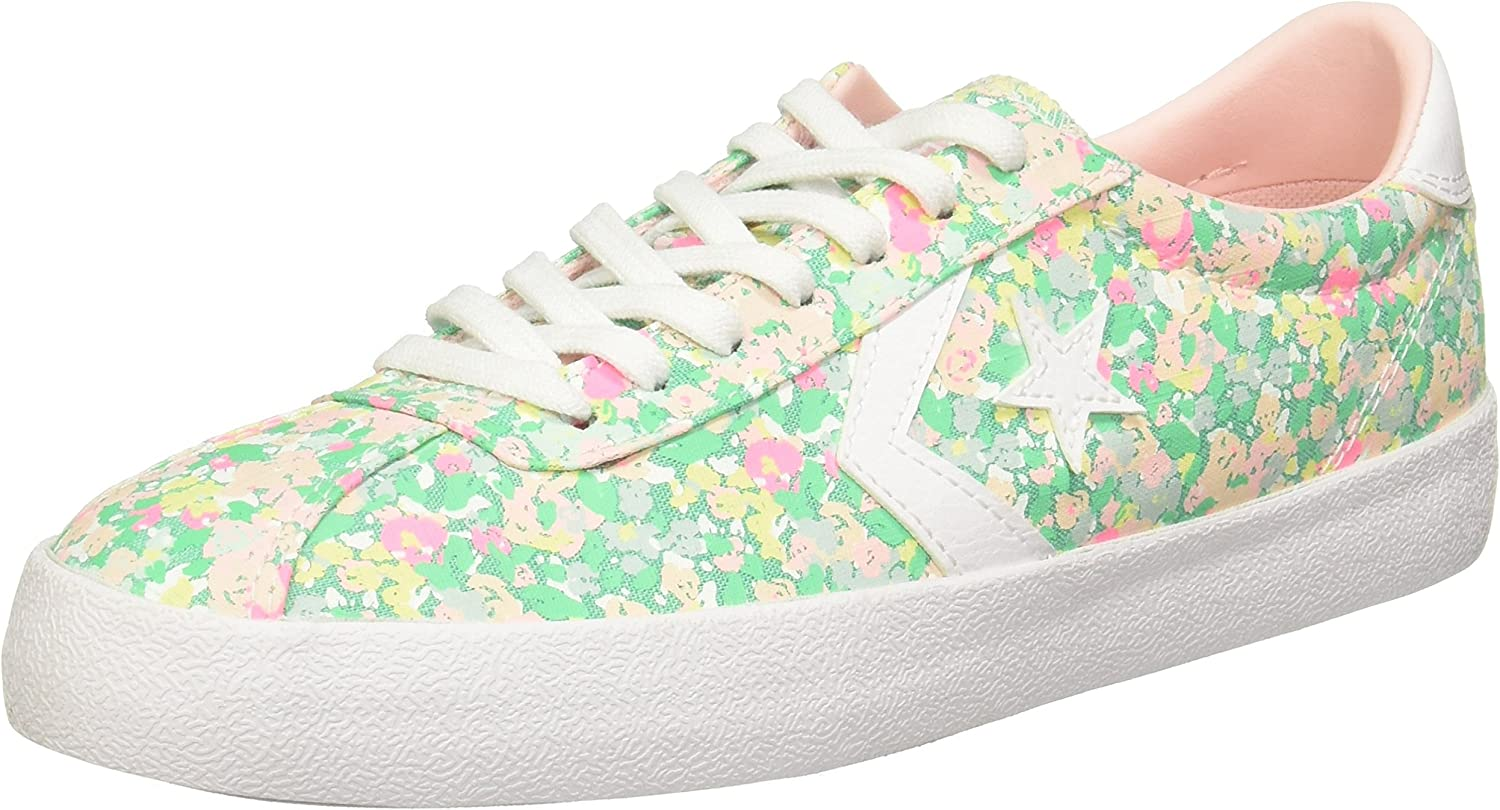 Converse Womens Breakpoint Floral Low Top Sneaker
