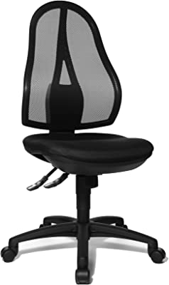 Topstar OP200G20 Open Point SY - Silla de Escritorio de Oficina, Color Negro