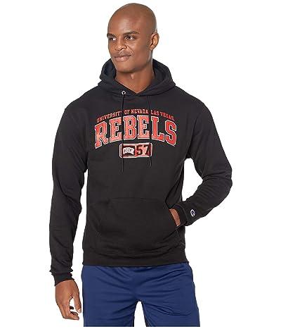 Champion College UNLV Rebels Powerblend(r) Fleece Hoodie (Black) Men