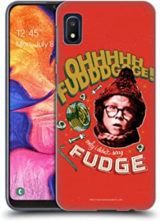 Official A Christmas Story Oh Fudge Composed Art Hard Back Case Compatible for Samsung Galaxy A10e (2019)