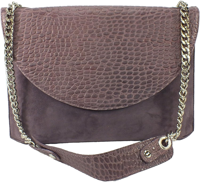854 Patricia Dini Leder Leder Leder Umhängetasche Clutch Handtasche lila B00J8LPVGU  Bekannt für seine schöne Qualität d49303