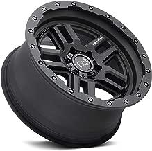 BLACK RHINO Rim Barstow 17X9.50 5x5.5 0 Textured Matte Black (Qty of 1)