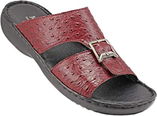 071-1956 Josef Seibel Mens Sandals Struzzo Bordo 46