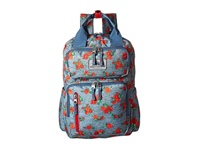 High Sierra Mindie Backpack (Denim Rose/Graphite Blue/Crimson) Backpack Bags